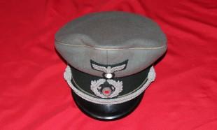 Wehrmachts-Schirmmütze 1